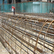Ribbed steel bars welded mesh